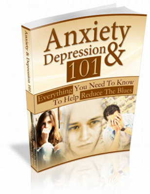 Product picture Anxiety And Depression 101 + MRR