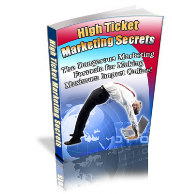 Product picture High Ticket Marketing Secrets Plr!