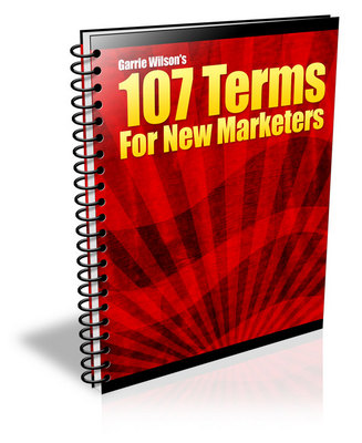 Product picture 107 Terms for New Marketers